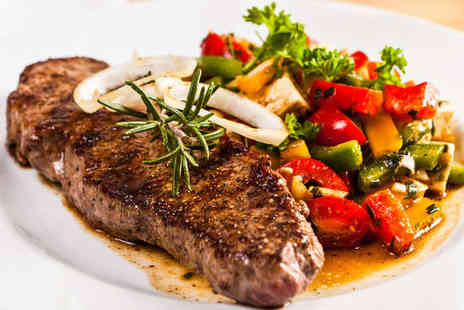 Michelinos - Starter and Main Course with Glass of Prosecco Each for Two - Save 52%