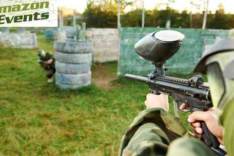 Amazon Events - Paintballing Session in East Sussex - Save 63%