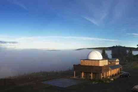 "Scottish Dark Sky Observatory -  14"" telescope and elevated observation deck Entry For One - Save 20%"