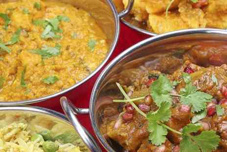 Memories Of India - Indian Meal Two Courses For Two - Save 55%