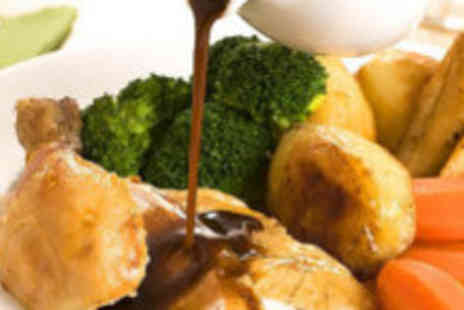 The Bridge Restaurant - Carvery lunch or dinner for two - Save 64%