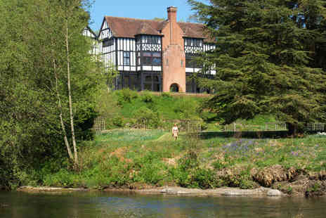 Caer Beris Manor Hotel - A Gourmet Feast in the Beautiful Wye Valley - Save 61%