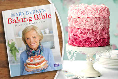 Random House Group - Paperback copy of Mary Berrys Baking Bible cookbook - Save 50%