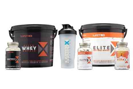 Matrix Nutrition - Diet Bundle 2.25kg Whey With African Mango Tablets - Save 61%