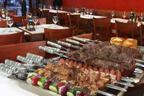 Rodizio Brazil Clapham -  All You Can Eat BBQ Meal With Wine - Save 58%