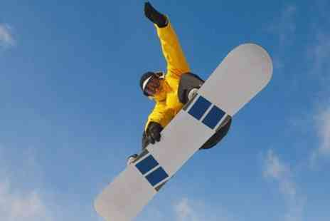 Gloucester Ski & Snowboard Centre -  Beginners ski or snowboard group lesson - Save 58%