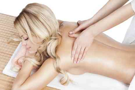Impressions Beauty Salon - Back and Head Massage or Full Body Massage  - Save 58%