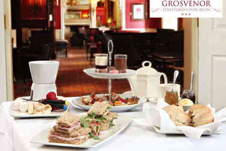 Best Western Grosvenor Hotel - Deluxe Sparkling Afternoon Tea for Two - Save 50%