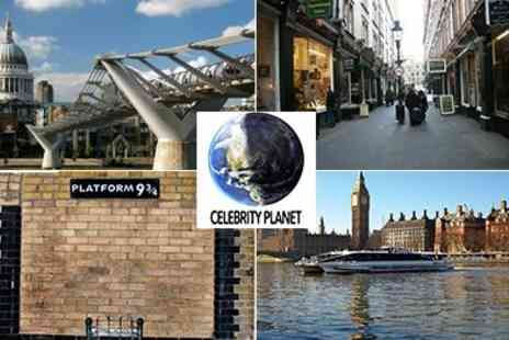 Celebrity Planet - Harry Potter Sightseeing Tour including Thames Clipper Ride - Save 50%