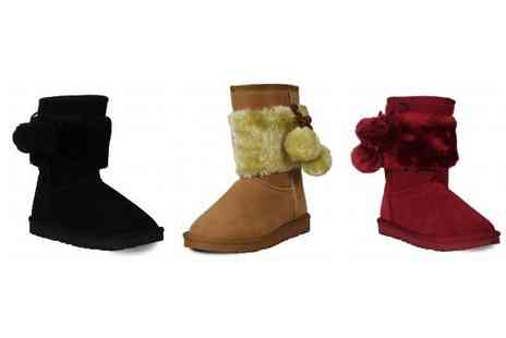 Karma Clothing - Faux Suede Snugg Boots - Save 77%