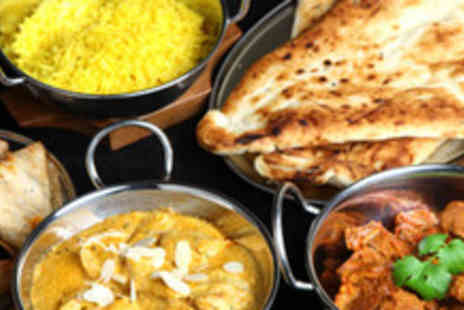 Masala Twist - Meal for 2 inc Starter Mains Sides and Wine - Save 61%