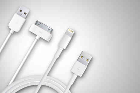 Links 4 - Two charging 1m cables for iPhones 3GS - Save 67%