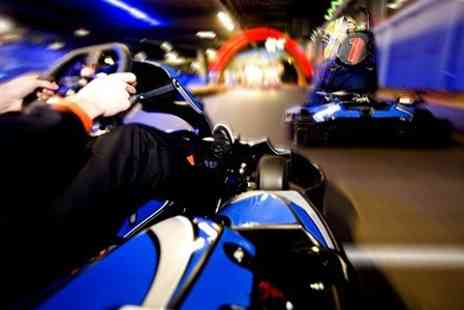 F1K - Indoor Karting 50 Lap Race  - Save 56%