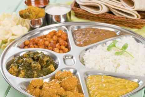 Delhi Deli - Indian Meal With Dessert and Drinks  - Save 50%