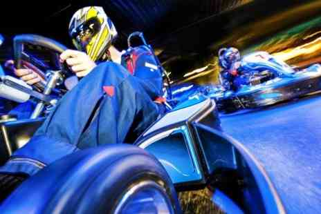 F1K - Indoor Karting 50 Lap Race - Save 60%