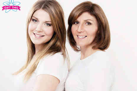 Nicola Bald Photography - Mother and Daughter Photo Shoot  with Bubbly Hair Styling Make Up Session, Private Viewing of Images Print - Save 85%