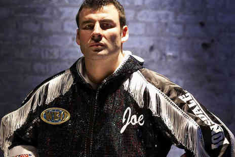 Precision Group - VIP Ticket to An Audience with Joe Calzaghe on April 4 Including Meal - Save 60%