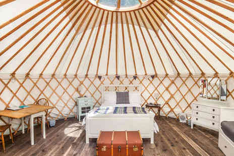 The Yurt Retreat - Two Night  Self Catering Yurt Stay for Up to Four Adults - Save 44%
