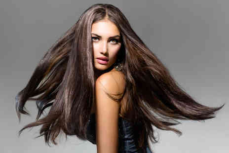 Vanity - Wash cut and a curly or volumising blow dry including glass of bubbly and a head massage - Save 50%