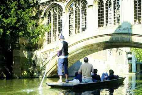 Scudamores Punting Company - Full Day Hire For Six  - Save 68%