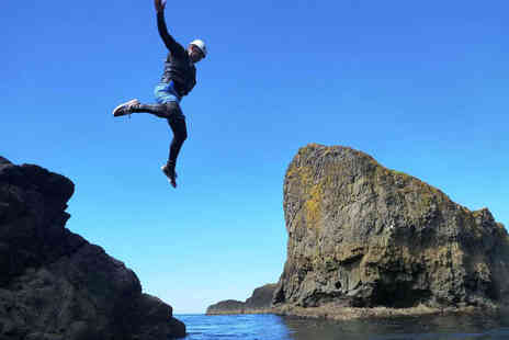 Coasteering NI - Two Hour Coasteering Adventure for One  - Save 51%