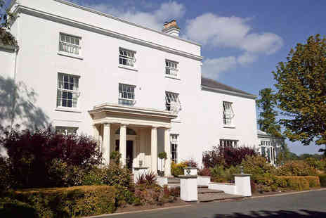 Fishmore Hall Hotel - Georgian Hall Stay in Stunning Shropshire - Save 51%