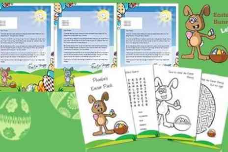 Easter Bunny Letters - Personalised Letter & Text Messages  - Save 50%