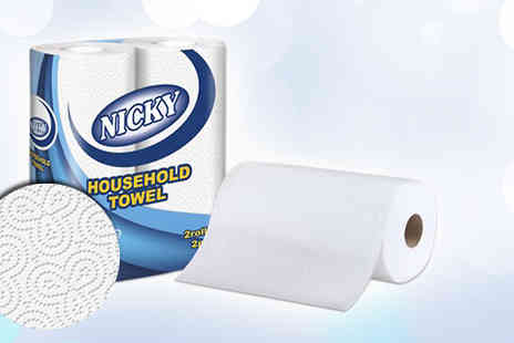 Pamper Me Store - Nicky 2ply Luxury Kitchen Rolls - Save 74%