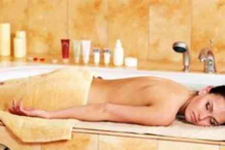 International Hair and Beauty - Full Body 60 Minute Massage For Two Plus Turkish Bath and Glass of Wine - Save 60%