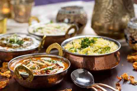 Sherwoods Restaurant - Two course Indian meal for 2 including a glass of wine - Save 59%