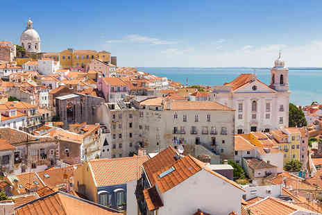 Airbridge Travel - Two night Lisbon break including flights and breakfast - Save 50%