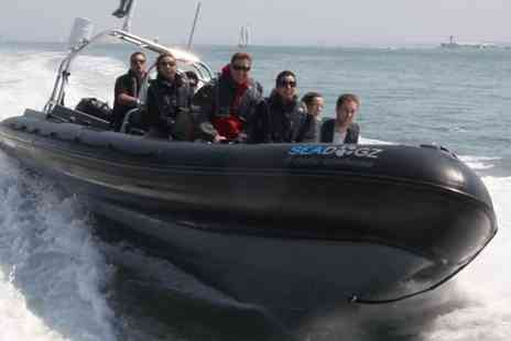 Seadogz - One hour extreme RIB boating experience - Save 60%
