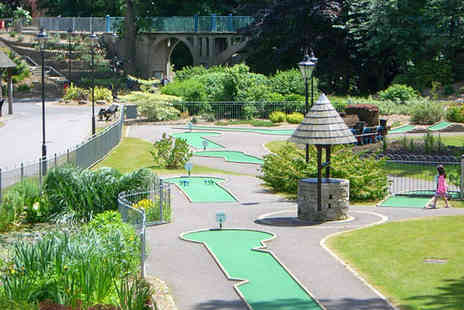The Clock Cafe - Round of Mini Golf for Two  - Save 56%