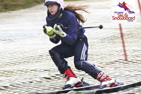 Gloucester Ski - Hour Long Dry Slope Ski Lesson for One Adult  - Save 51%