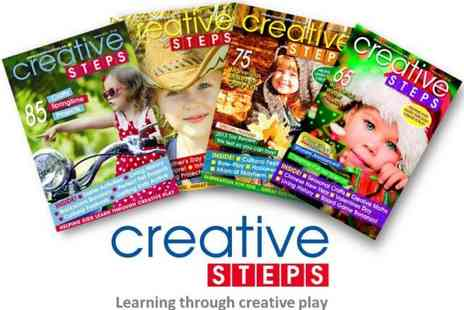 Creative Steps Magazine -  Fun and Easy Activities & Projects for Kids - Save 50%