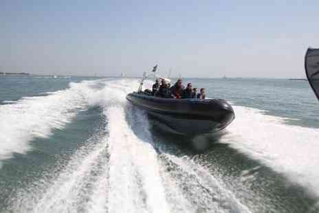 SeaDogz - Adrenaline Fuelled  Wet'n'Wild  RIB riding along the Solent. - Save 60%