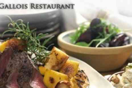 Bar Gallois - Two Course Meal For Two With Drinks - Save 57%