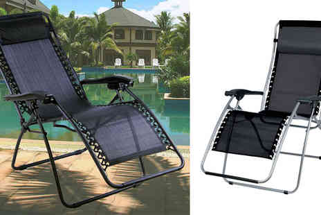 Tooltime - Weatherproof Deck Chair - Save 65%
