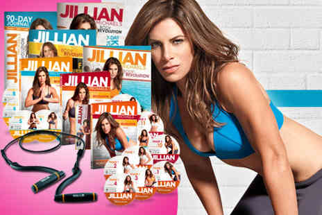 Home Shopping Mall -  21pc Jillian Michaels body revolution pack and resistance band - Save 51%