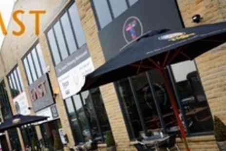 East Bar Lounge Grill - Two Courses of Indian Cuisine For Two - Save 75%