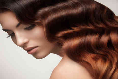 Glow N Glamour - Cut and colour with a senior stylist  - Save 77%