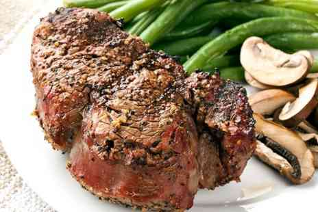 The Bistro - Sirloin Steak  For Two  - Save 50%