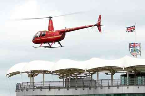 Heli Air - Helicopter Buzz Flight over Silverstone Circuit  - Save 71%