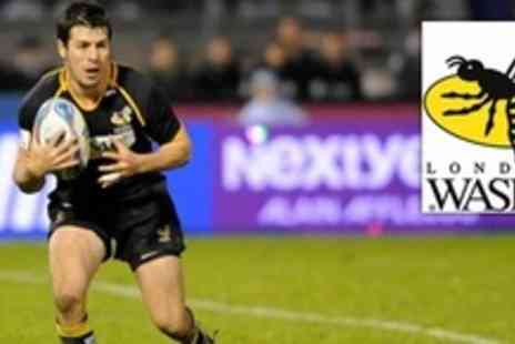 London Wasps - Two Tickets to London Wasps v Worcester Warriors - Save 66%
