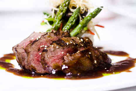 Tirage - Steak Meal with Chips and a Glass of Wine or a Beer for One Person - Save 33%
