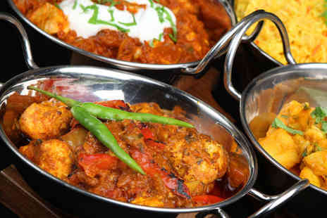 Spicy Kalkata Club - Two Course Indian Meal with Glass of Wine - Save 59%