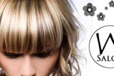 W Salon - Cut and Blow Dry With Clynol Conditioning Treatment - Save 65%