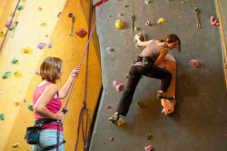 Dynamic Rock Adventures - One Hour Indoor Climbing Session - Save 53%