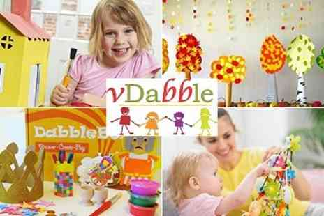 VDabble - Spring Activity Boxes of crafty Fun for children - Save 50%