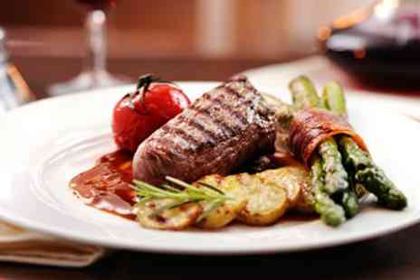 Fresco Fresco - Two Course Fillet Steak Dinner and Bubbly for two - Save 58%